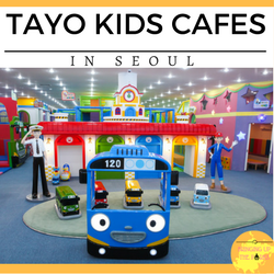 Tayo Kids Cafe Branches in Seoul