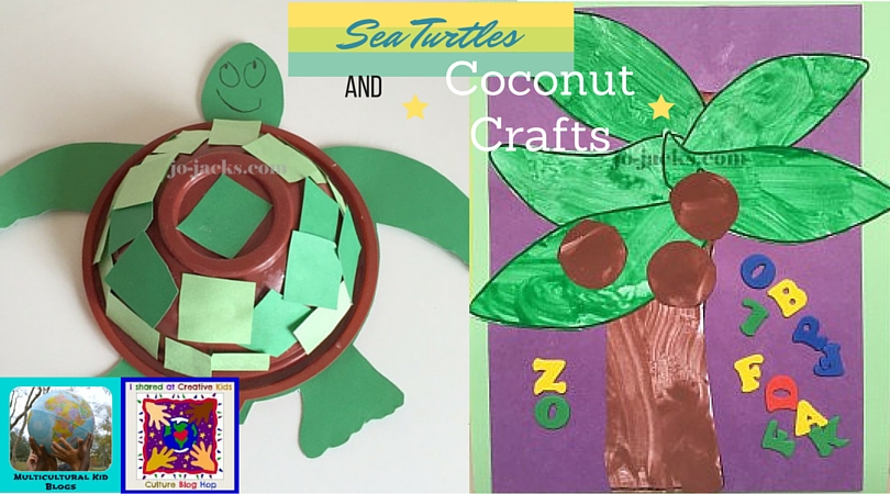 Sea Turtles and Coconut Crafts