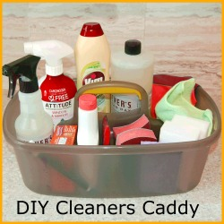 Cleaners Caddy