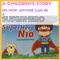 Superhero Nio Children's Story