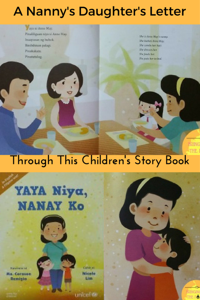 A children 39 s book about our nannies 39 and their kids 39 rights for Storybook nanny