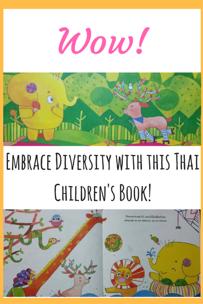 Embrace Diversity with this Thai Children's Book!