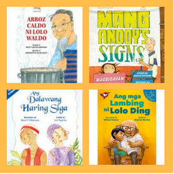 4 Filipino Children's Books about Grandfathers