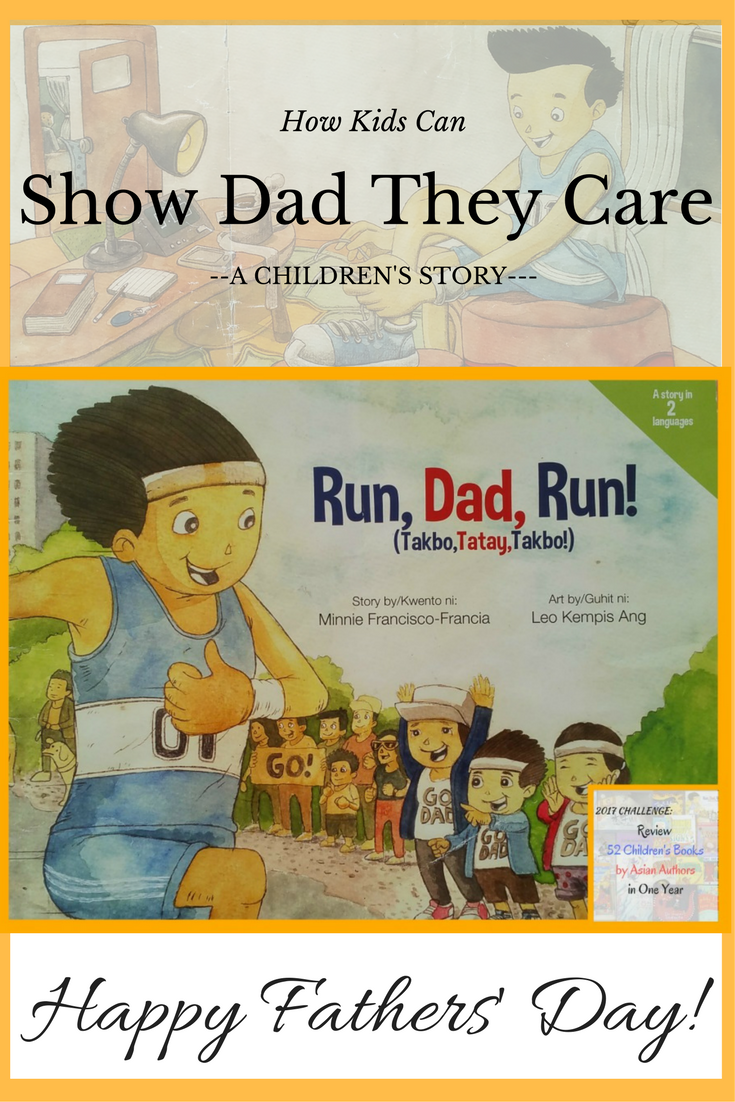 Run, Dad, Run! Filipino Children's Story