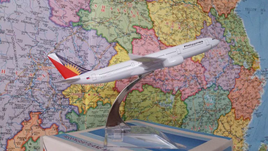 Philippine Airlines Model airplane