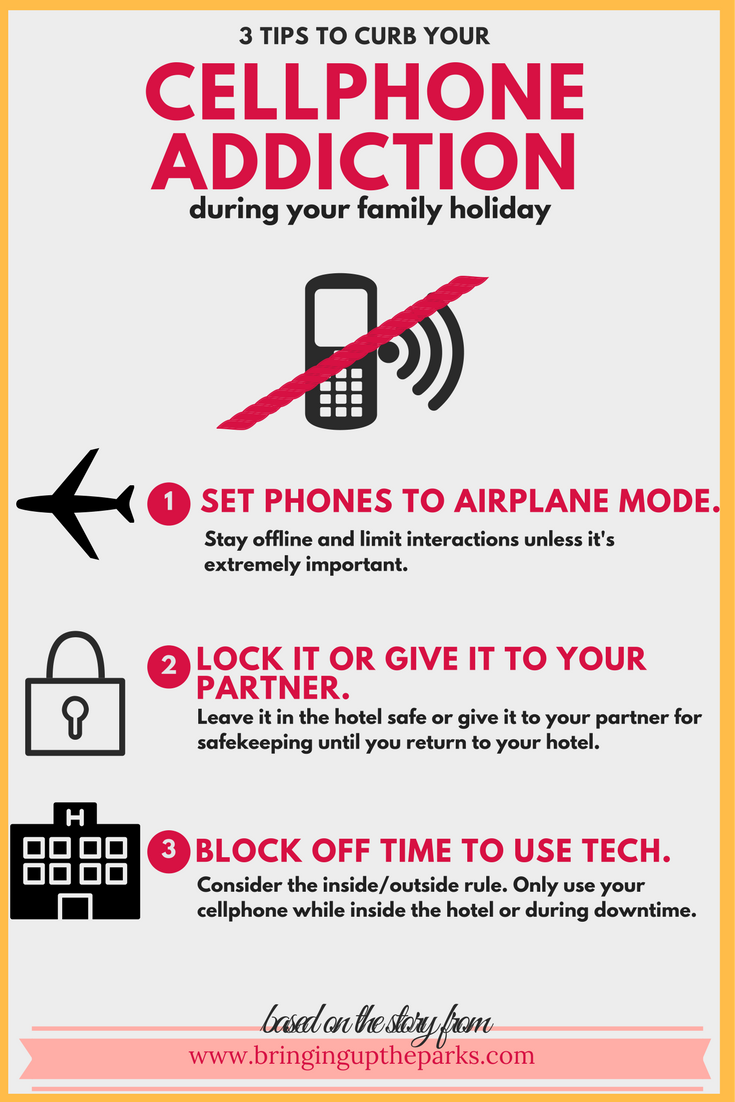 3 WAYS TO CURB YOUR CELLPHONE ADDITION ON A FAMILY HOLIDAY